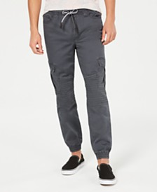 American Rag Men's Fused Cargo Jogger Pants, Created for Macy's