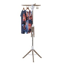 Household Essentials 2-Tier Tripod Clothes Dryer with Hanging Clothespins