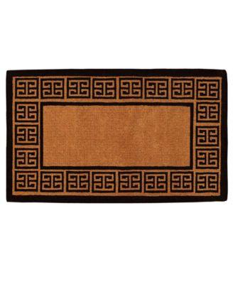 The Grecian 3' x 6' Coir Doormat