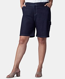Plus Size Flex To Go Bermuda Cargo Shorts