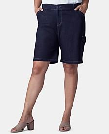 Plus Size Flex To Go Bermuda Cargo Shorts