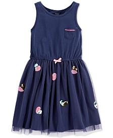 Carter's Little & Big Girls Hearts Dress