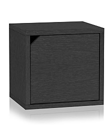 Way Basics Eco Stackable Connect Storage Cube with Door