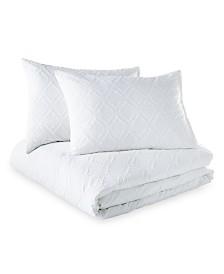 Microsculpt Ogee King Comforter Set