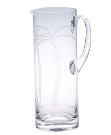 Palm Tree Pitcher 35Oz