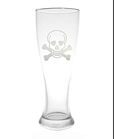 Skull and Cross Bones Beer Pilsner 16Oz- Set Of 4 Glasses