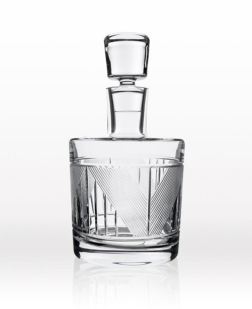 Rolf Glass Bleecker Street Whiskey Decanter