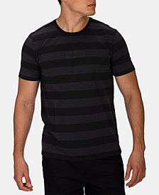 Hurley Men's One And Only Dri-FIT Stripe Logo Graphic T-Shirt