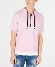 I.N.C. Men's Regular-Fit Layered-Look Hoodie, Created for Macy's