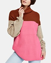 3623fd49b2 Free People Softly Structured Colorblocked Turtleneck Sweater
