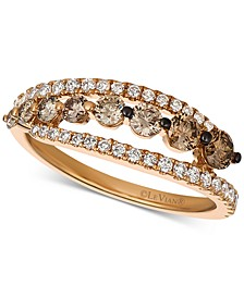 Chocolatier® Diamond (1 ct. t.w.) Ring in 14k Rose Gold