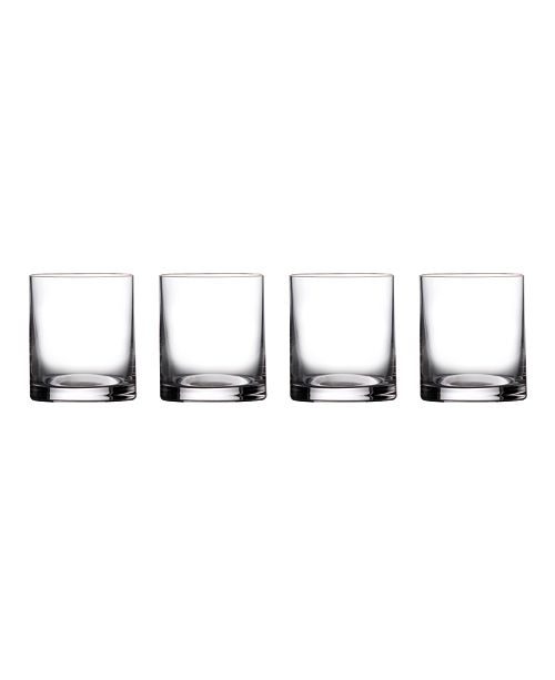 Marquis by Waterford Moments Double Old Fashioned Glasses, Set of 4