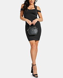 GUESS Valorie Strappy Bodycon Dress
