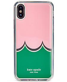 kate spade new york Scallop Hands Free iPhone XS Case