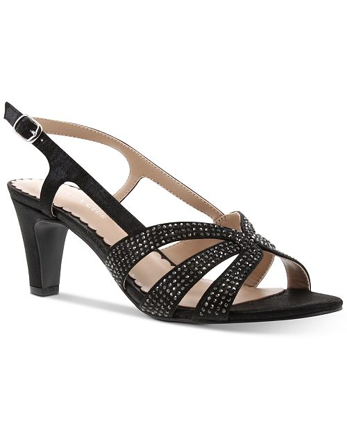 Charter Club Delilaa Embellished Sandals, Created for Macy's