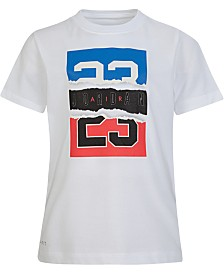 Jordan Little Boys Torn Legend Graphic T-Shirt