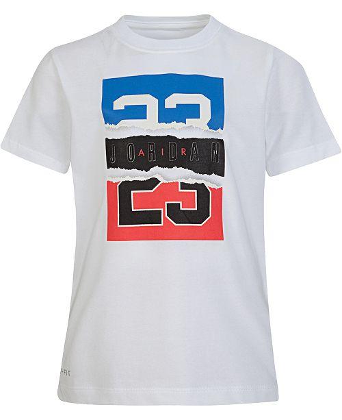 Jordan Little Boys Torn Legend Graphic T-Shirt