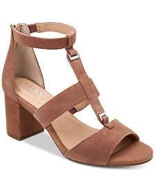 Alfani Elianaa Step 'N Flex Suede Dress Sandals, Created for Macy's