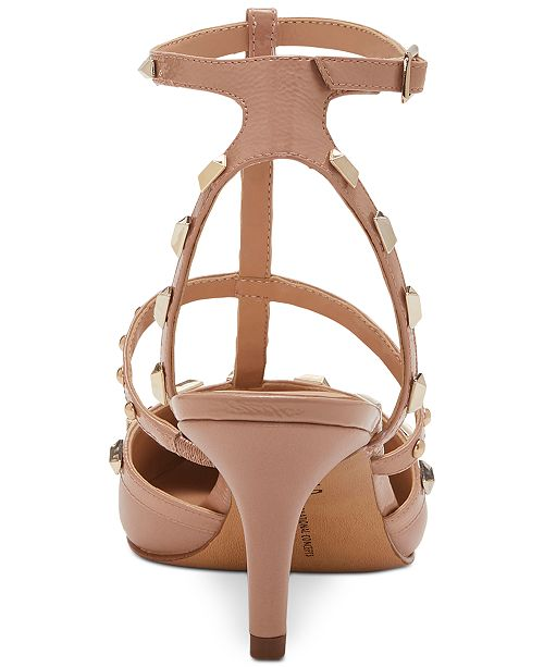 22f3ea382f9 ... INC International Concepts I.N.C. Carma Pointed Toe Studded Kitten Heel  Pumps