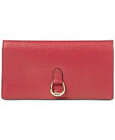 Lauren Ralph Lauren Bennington Slim Leather Wallet