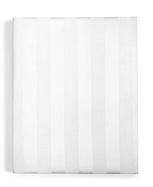 "1.5"" Stripe Twin XL Fitted Sheet, 550 Thread Count 100% Supima Cotton, Created for Macy's"