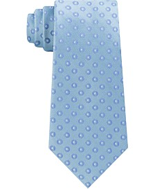Kenneth Cole Men's Brandon Classic Dot Silk Tie