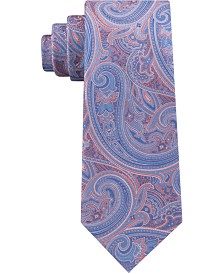 Michael Kors Men's Stately Classic Paisley Silk Tie