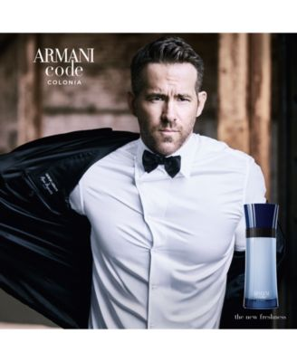 Giorgio Armani Code Colonia Eau de Toilette Spray, 2.5 oz.