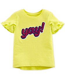 Carter's Little & Big Girls Graphic-Print T-Shirt