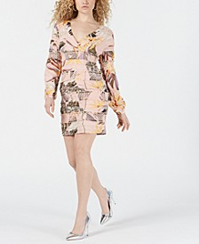 Long-Sleeve Yvette Dress