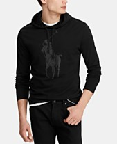 Polo Ralph Lauren Men s Big Pony Jersey Hooded T-Shirt f3a562e90