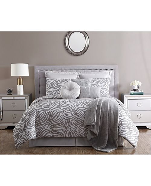 VCNY Home  CLOSEOUT! Serengeti 10-Pc. Full Comforter Set