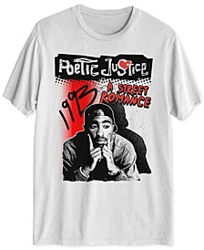 Tupac Poetic Justice Men's Graphic T-Shirt