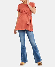Articles Of Society Maternity Flared-Leg Jeans