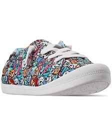 Skechers Women's Bobs Beach Bingo - Woof Pack Bobs for Dogs and Cats Casual Sneakers from Finish Line