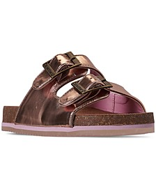 Girls' Brooklyn Slide Sandals from Finish Line
