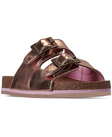 Bearpaw Girls' Brooklyn Slide Sandals from Finish Line