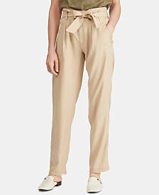 Lauren Ralph Lauren Petite Twill Pants