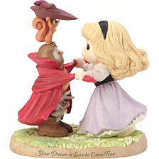 Precious Moments Disney Showcase Collection Your Dream Is Sure To Come True Sleeping Beauty Bisque Porcelain Figurine 183072