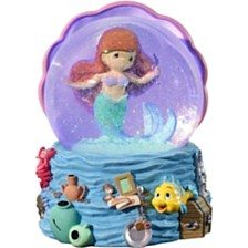 Precious Moments Disney Showcase Collection The Little Mermaid Snow Globe Musical 183471
