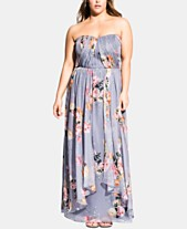 8ce88e96ce City Chic Trendy Plus Size Florence Whimsy Maxi Dress