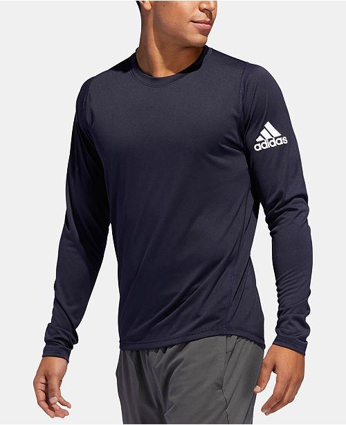 b0c75927 adidas Men's FreeLift ClimaLite® Long-Sleeve T-Shirt & Reviews - T ...