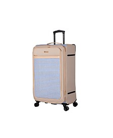 "Isaac Mizrahi Greenwich 28"" 8-Wheel Spinner Luggage"