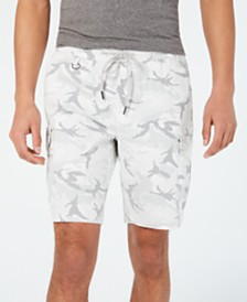 American Rag Men's Camo Drawstring Cargo Shorts, Created for Macy's