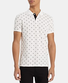 Calvin Klein Men's Monogram Polo