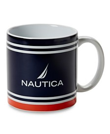 Nautica Ceramic Oversized Coffee Mug