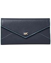 ed462fac96 MICHAEL Michael Kors Slim Envelope Trifold Leather Wallet