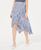 5b7cc90fe Maison Jules Ruffled High-Low Maxi Skirt, Created for Macy's
