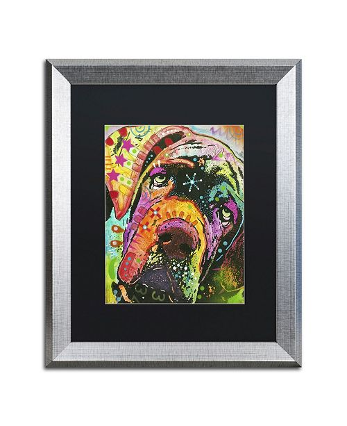 "Trademark Global Dean Russo 'Old Droopyface' Matted Framed Art - 20"" x 16"" x 0.5"""