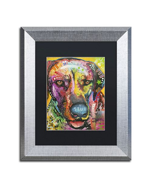 "Trademark Global Dean Russo 'Ready to go' Matted Framed Art - 14"" x 11"" x 0.5"""